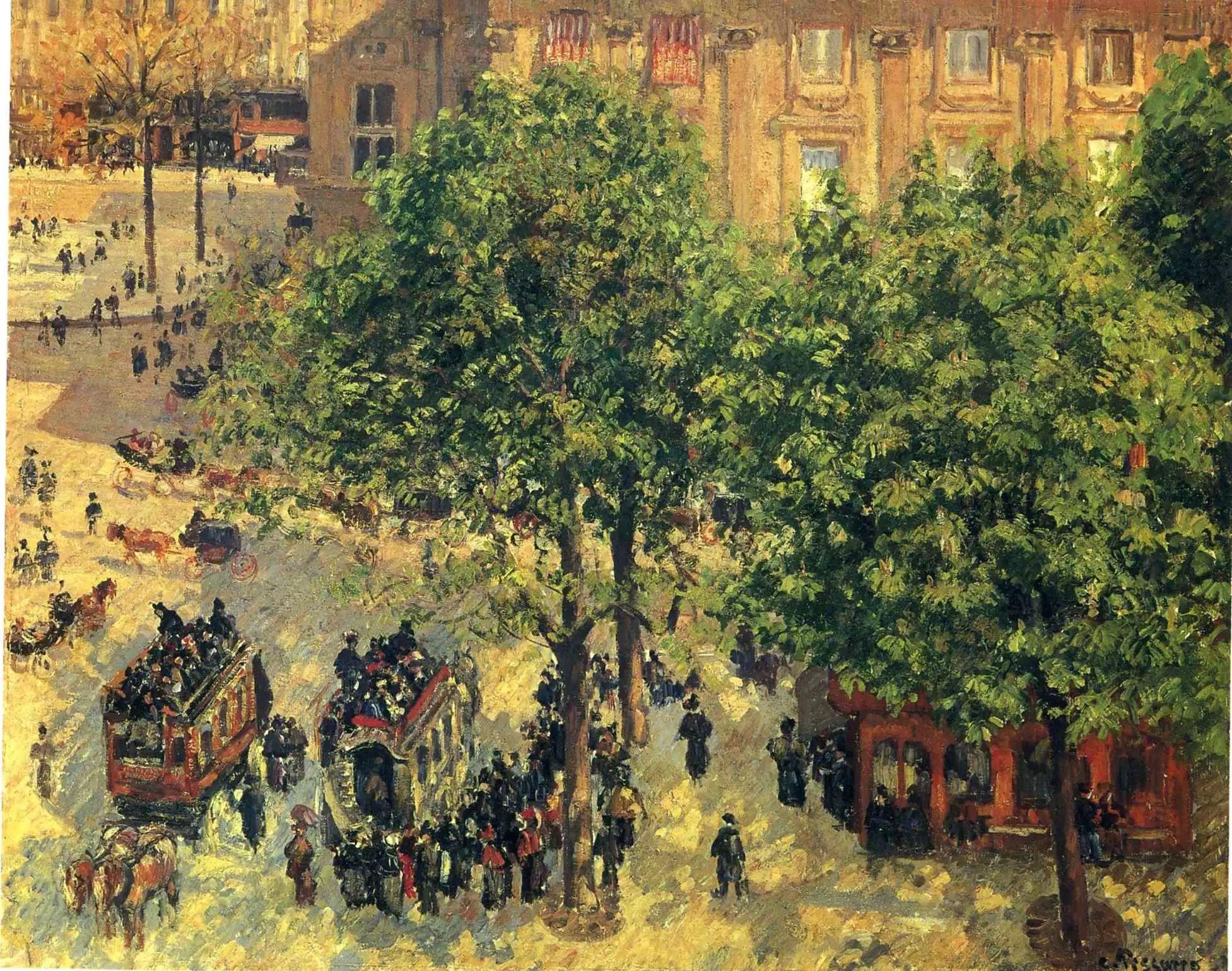 法国印象派画家卡米耶·毕沙罗油画作品插图101