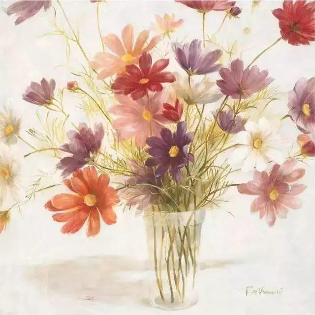 细嗅花间的美好 法国画家Fabrice de Villeneuve插图3