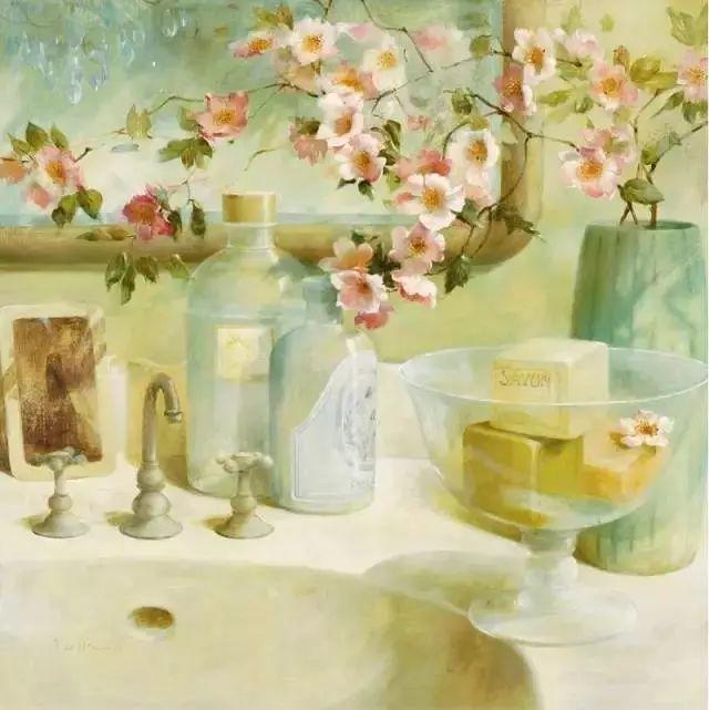 细嗅花间的美好 法国画家Fabrice de Villeneuve插图15
