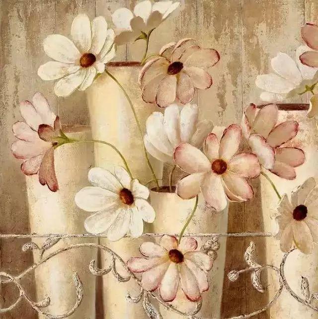 细嗅花间的美好 法国画家Fabrice de Villeneuve插图17