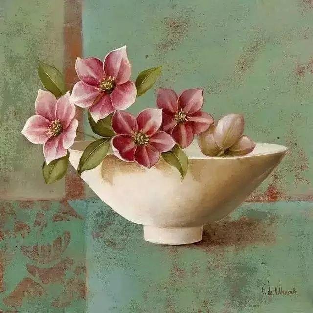 细嗅花间的美好 法国画家Fabrice de Villeneuve插图19