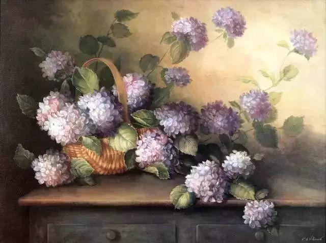 细嗅花间的美好 法国画家Fabrice de Villeneuve插图27