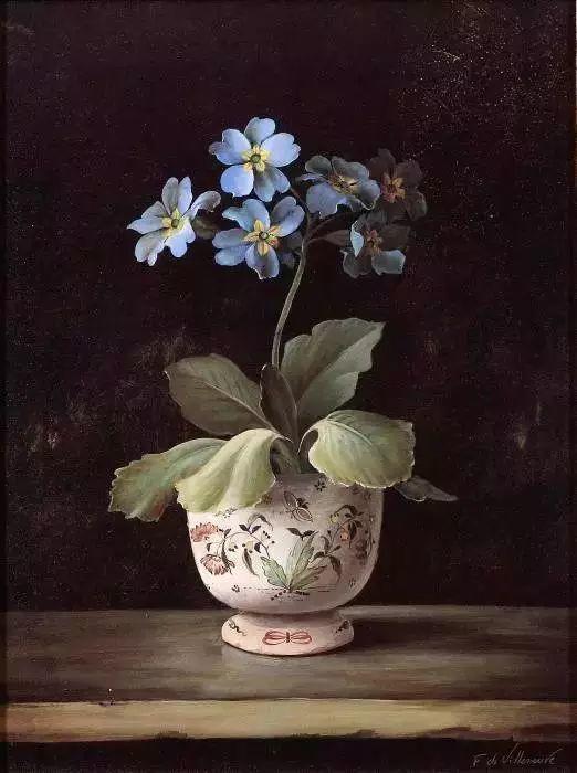 细嗅花间的美好 法国画家Fabrice de Villeneuve插图29