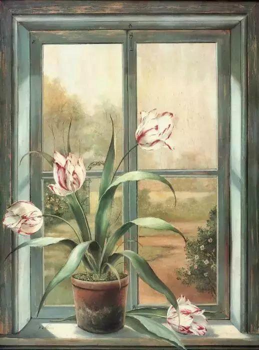 细嗅花间的美好 法国画家Fabrice de Villeneuve插图33