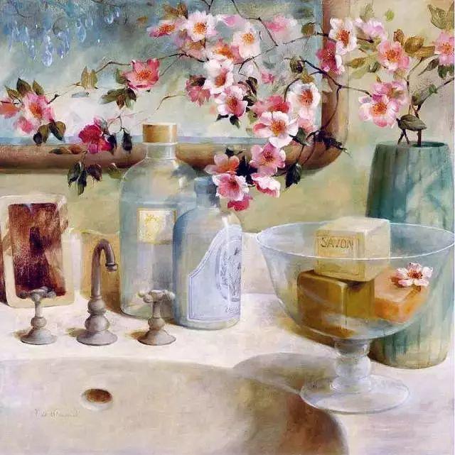 细嗅花间的美好 法国画家Fabrice de Villeneuve插图37
