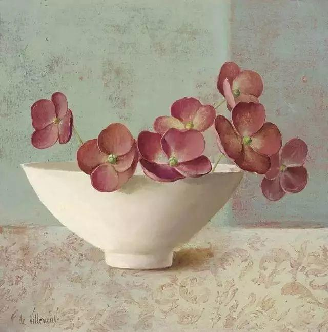 细嗅花间的美好 法国画家Fabrice de Villeneuve插图39