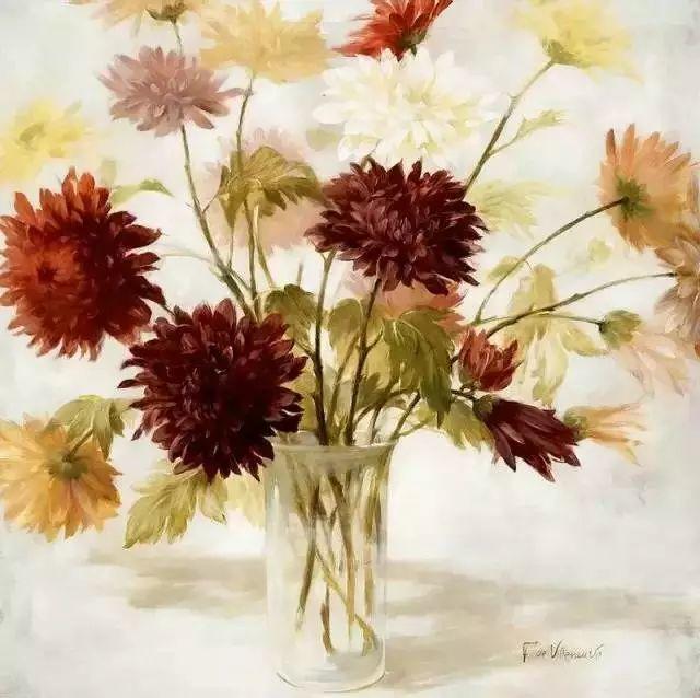 细嗅花间的美好 法国画家Fabrice de Villeneuve插图43