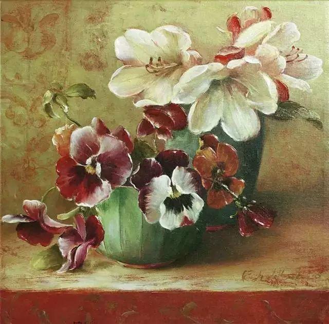 细嗅花间的美好 法国画家Fabrice de Villeneuve插图45