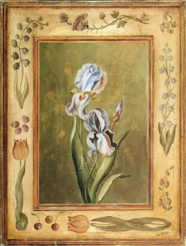 细嗅花间的美好 法国画家Fabrice de Villeneuve插图49