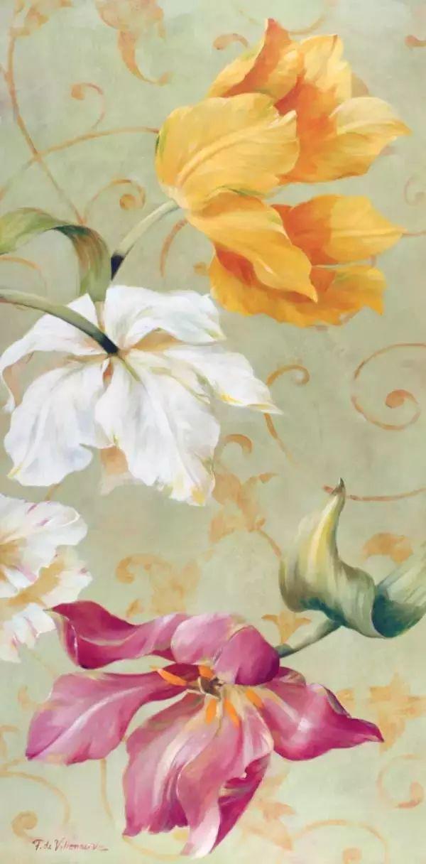 细嗅花间的美好 法国画家Fabrice de Villeneuve插图63
