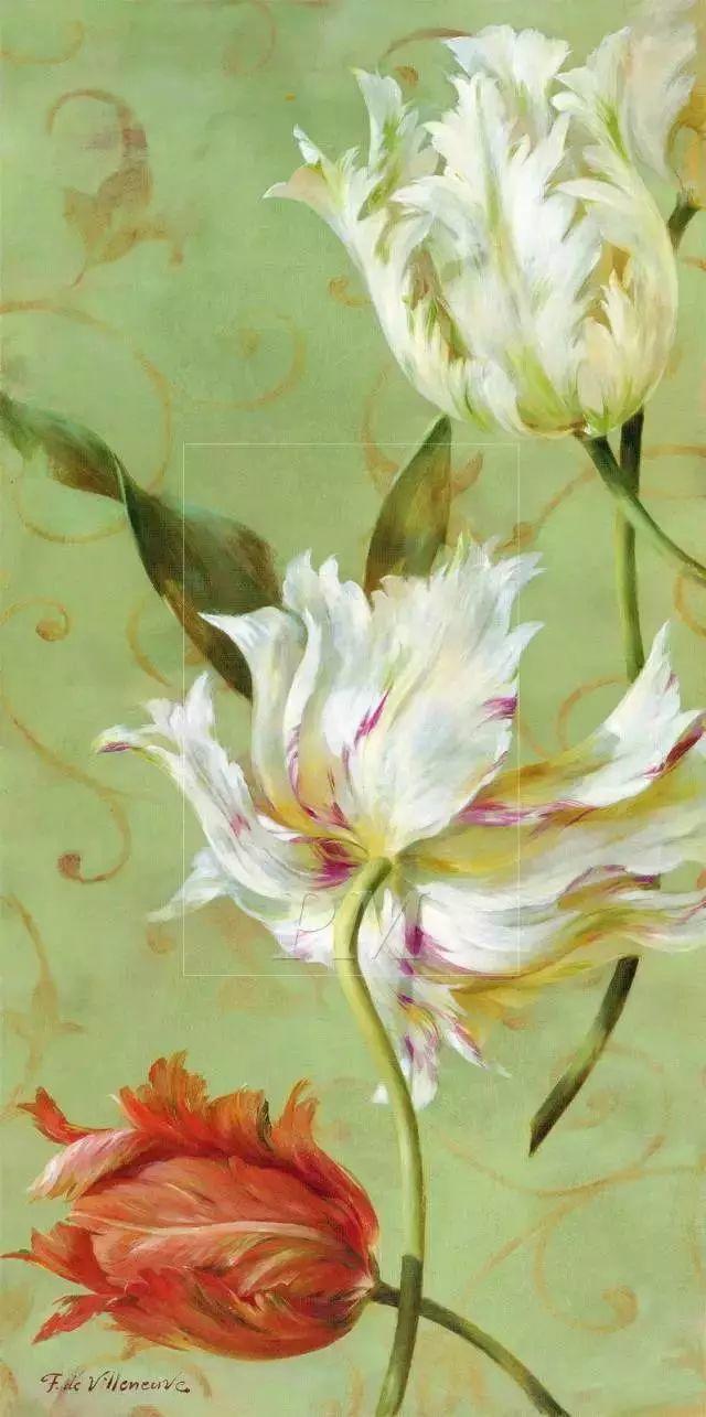 细嗅花间的美好 法国画家Fabrice de Villeneuve插图65