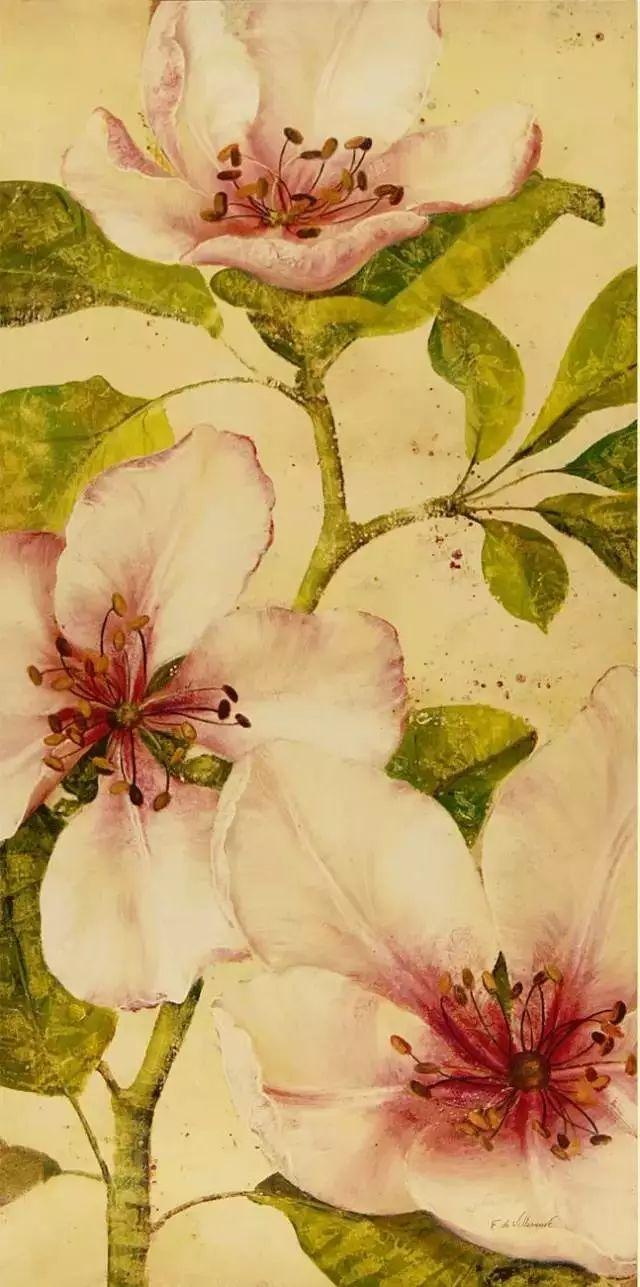 细嗅花间的美好 法国画家Fabrice de Villeneuve插图67
