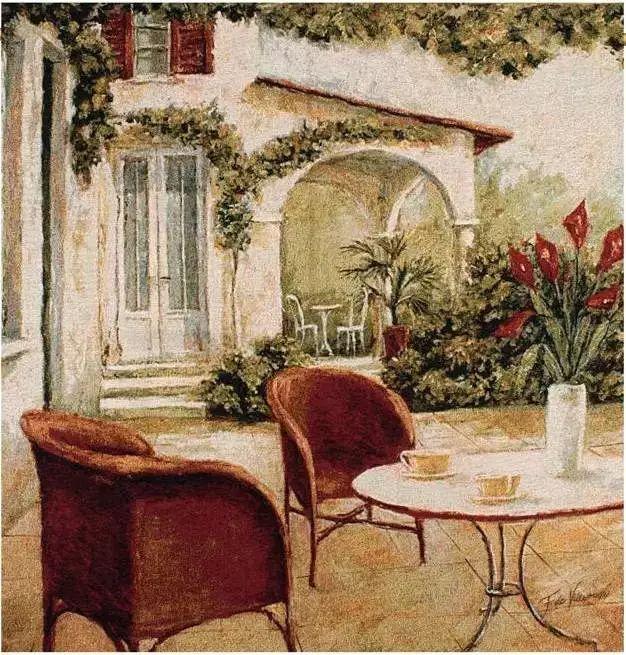 细嗅花间的美好 法国画家Fabrice de Villeneuve插图71