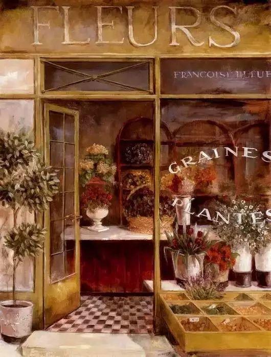 细嗅花间的美好 法国画家Fabrice de Villeneuve插图73