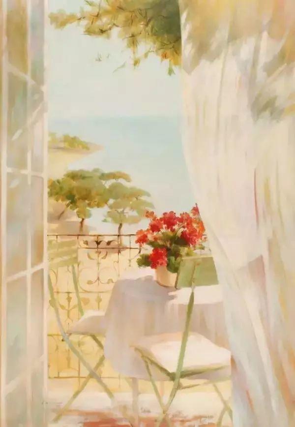 细嗅花间的美好 法国画家Fabrice de Villeneuve插图81