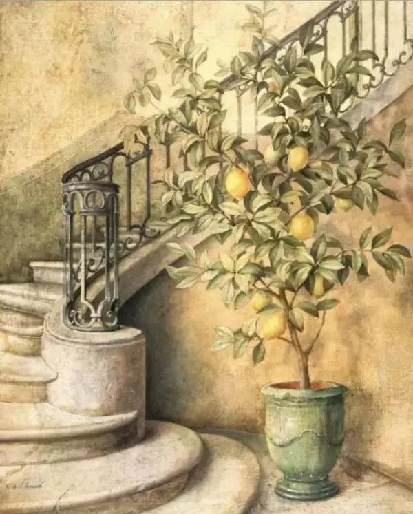 细嗅花间的美好 法国画家Fabrice de Villeneuve插图89