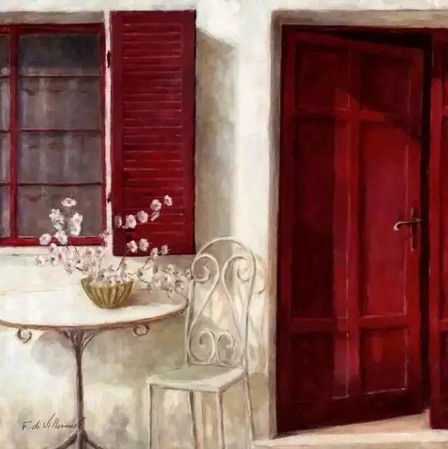 细嗅花间的美好 法国画家Fabrice de Villeneuve插图95