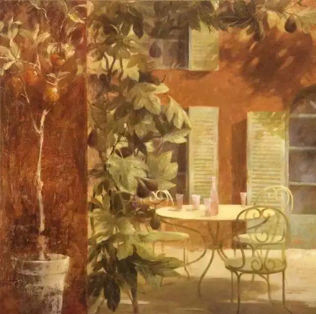 细嗅花间的美好 法国画家Fabrice de Villeneuve插图97