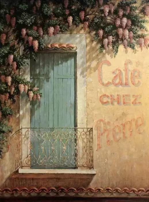 细嗅花间的美好 法国画家Fabrice de Villeneuve插图99