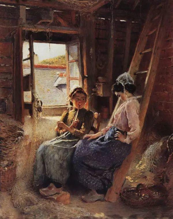 俄罗斯Konstantin Makovsky油画作品插图23