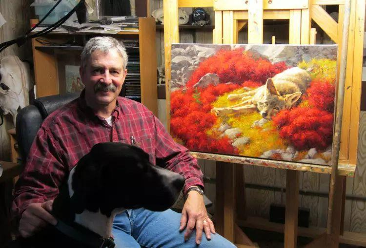 美国Greg Beecham野生动物画插图1