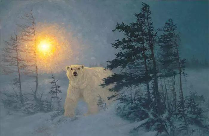 美国Greg Beecham野生动物画插图31