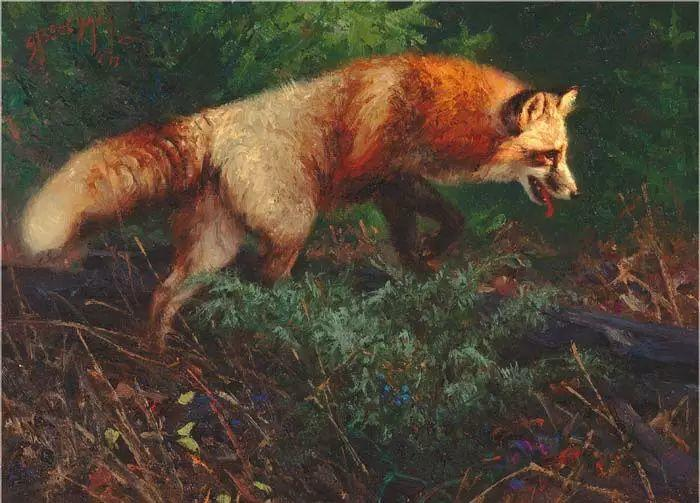美国Greg Beecham野生动物画插图33