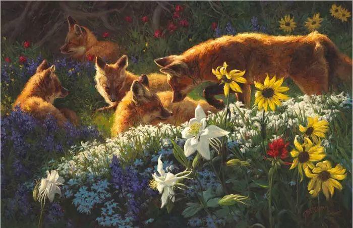 美国Greg Beecham野生动物画插图53