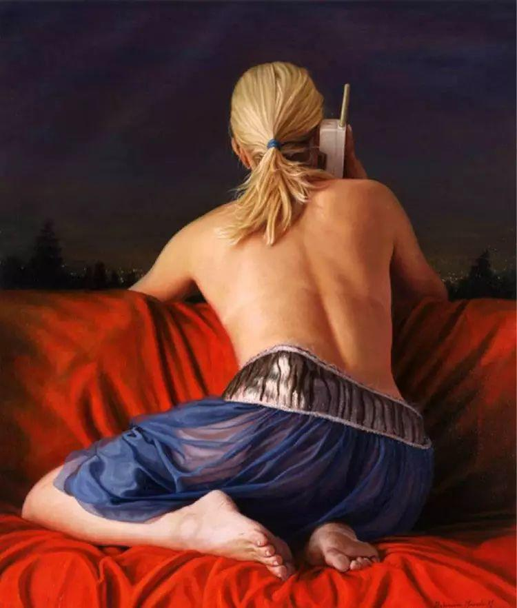 钟情于女屁股的画家插图33