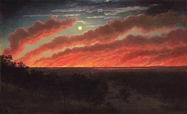 美丽的风景 奥地利Eugene von Guerard插图1
