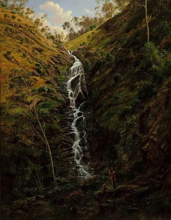 美丽的风景 奥地利Eugene von Guerard插图3