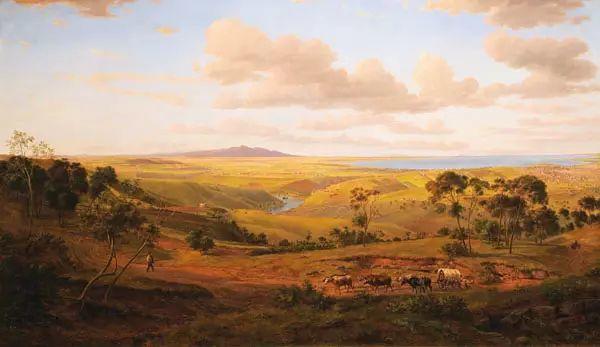 美丽的风景 奥地利Eugene von Guerard插图5