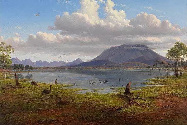 美丽的风景 奥地利Eugene von Guerard插图7