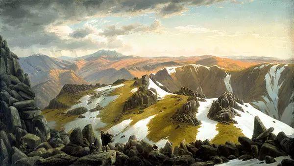 美丽的风景 奥地利Eugene von Guerard插图9