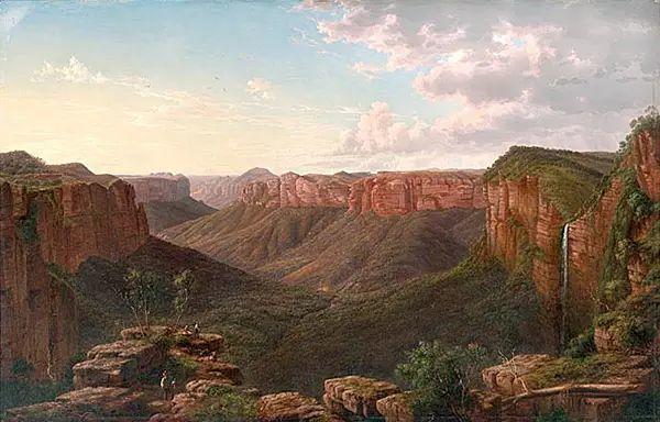 美丽的风景 奥地利Eugene von Guerard插图11