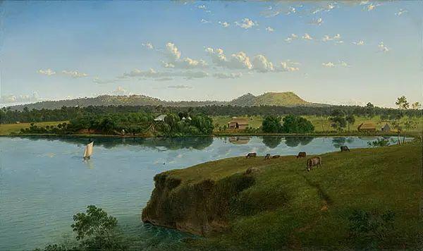 美丽的风景 奥地利Eugene von Guerard插图17