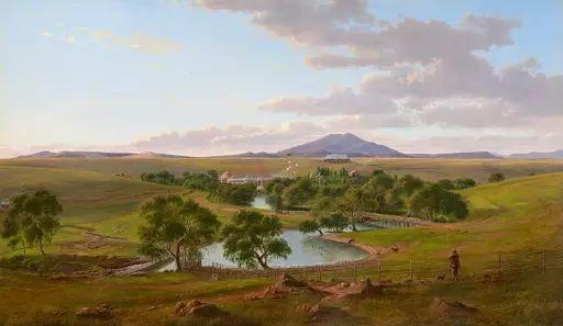 美丽的风景 奥地利Eugene von Guerard插图21
