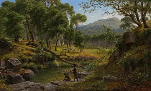 美丽的风景 奥地利Eugene von Guerard插图23