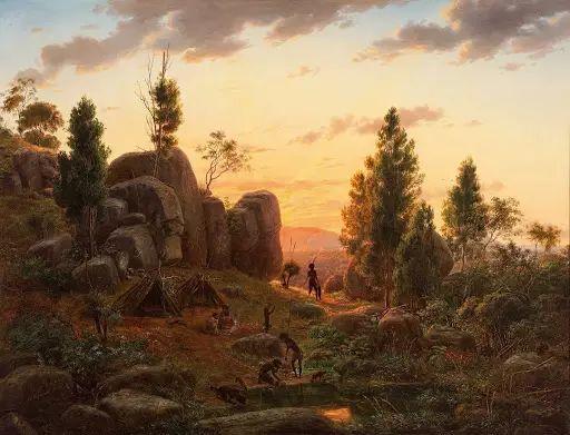 美丽的风景 奥地利Eugene von Guerard插图33