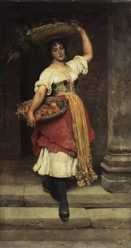 意大利古典主义画家Eugene de Blaas作品插图11