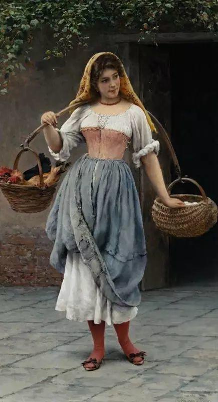 意大利古典主义画家Eugene de Blaas作品插图33