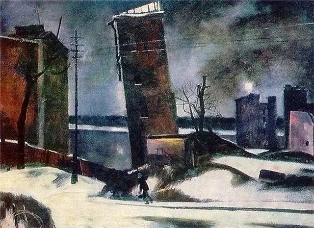 俄罗斯二战题材油画插图6