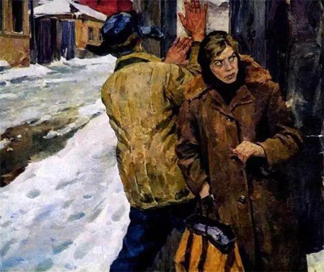 俄罗斯二战题材油画插图9