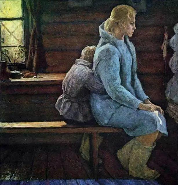 俄罗斯二战题材油画插图12