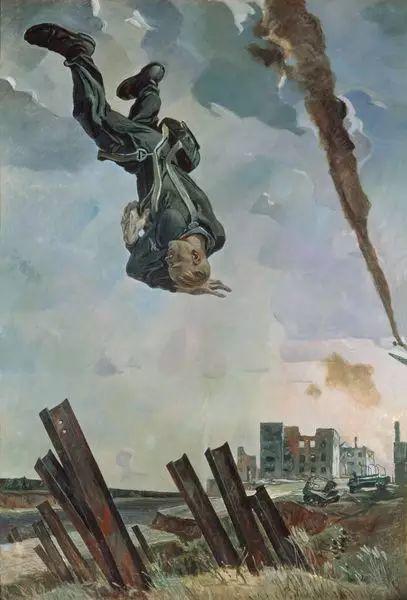 俄罗斯二战题材油画插图14