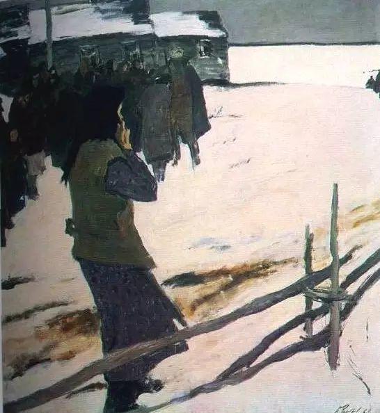 俄罗斯二战题材油画插图28
