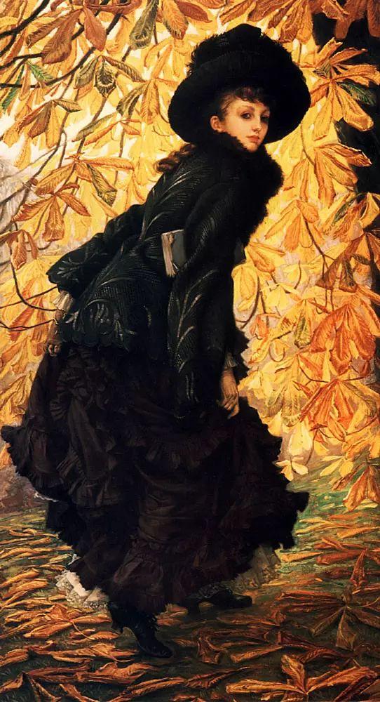 法国雅姆·蒂索(Tissot)人物油画插图5