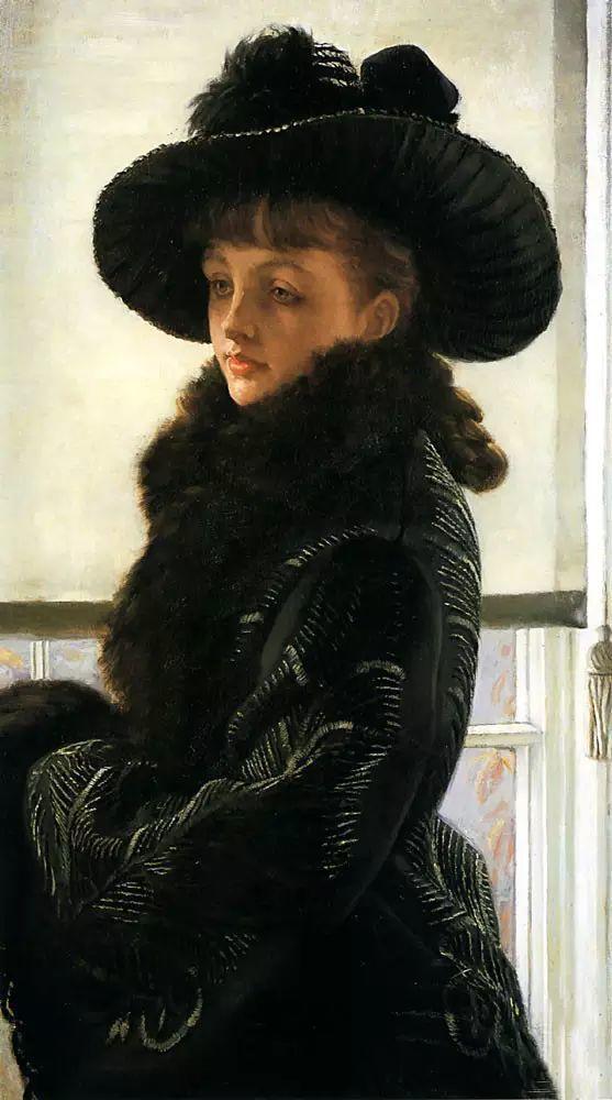 法国雅姆·蒂索(Tissot)人物油画插图9