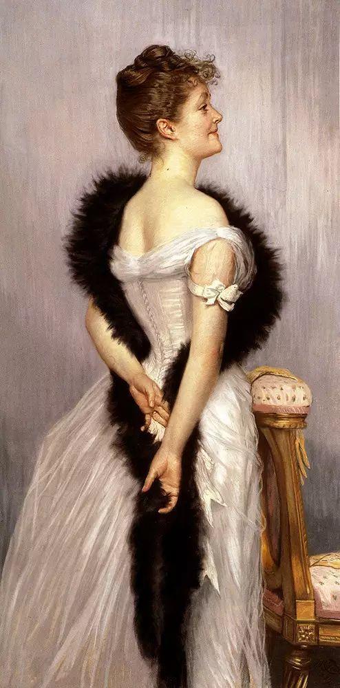 法国雅姆·蒂索(Tissot)人物油画插图11