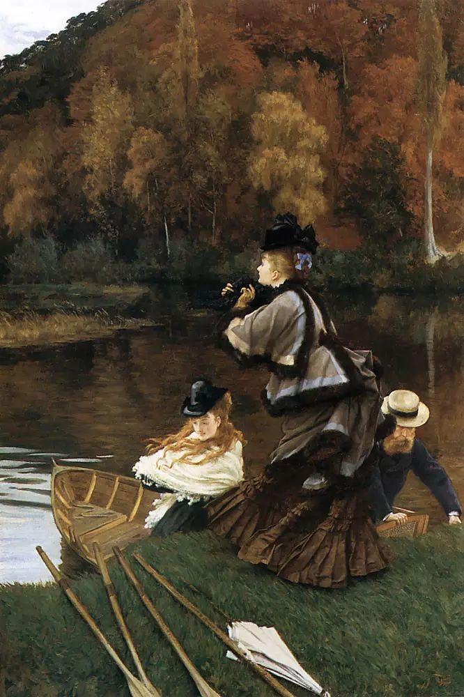 法国雅姆·蒂索(Tissot)人物油画插图19